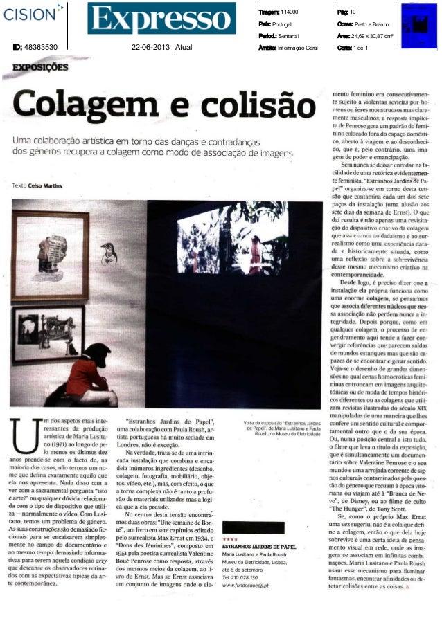 Tiragem: 114000País: PortugalPeriod.: SemanalÂmbito: Informação GeralPág: 10Cores: Preto e BrancoÁrea: 24,69 x 30,87 cm²Co...
