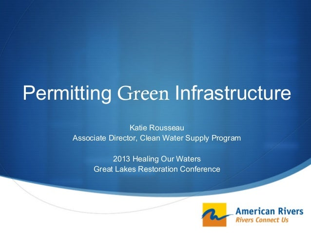 Permitting Green Infrastructure