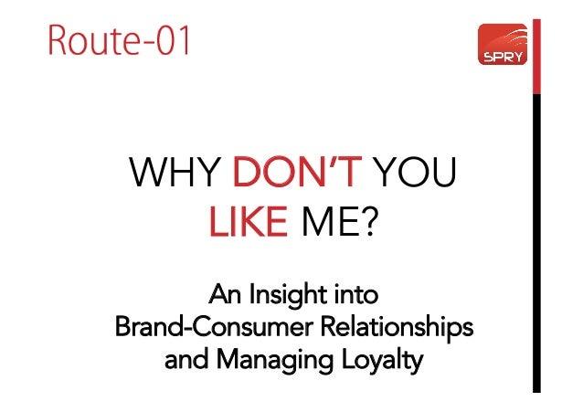 Relationship marketing and customer loyalty