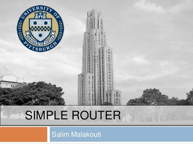 SIMPLE ROUTER Salim Malakouti