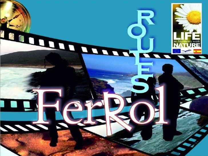 Routes ferrol