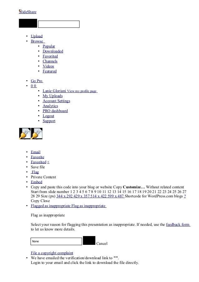 SlideShareObject 1       2           SUBMIT                      • Upload                      • Browse                   ...