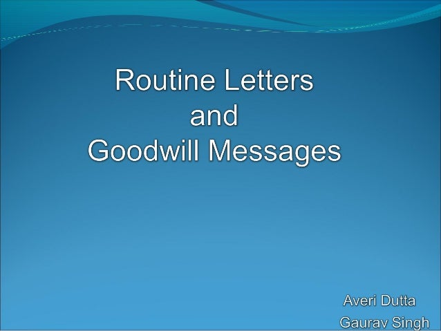 In the business world, routine business letters are part of essential communication practices among companies, clients an...