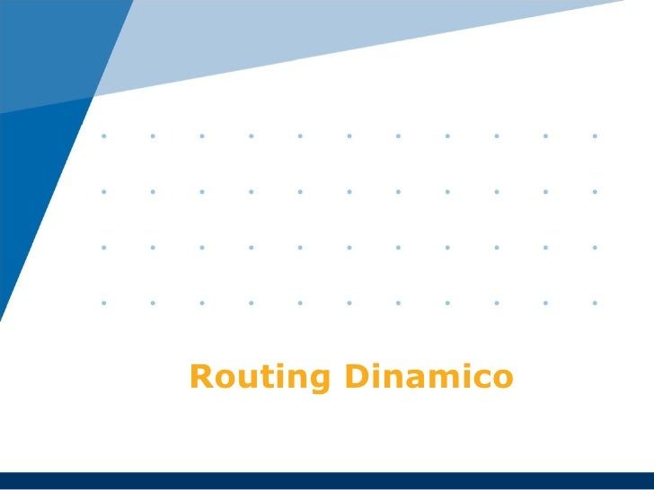 Routing dinamico