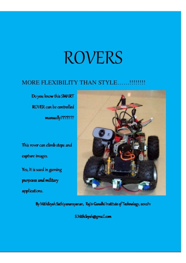RRah[Type the company name] | Confidential ROVERS MORE FLEXIBILITY THAN STYLE……!!!!!!!! Do you know this SMARTDo you know ...