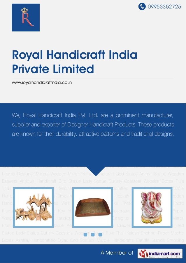 09953352725A Member ofRoyal Handicraft IndiaPrivate Limitedwww.royalhandicraftindia.co.inHandicraft Statue Wooden Handicra...
