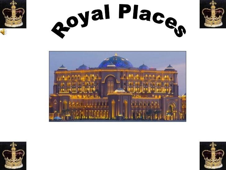 Royal Places