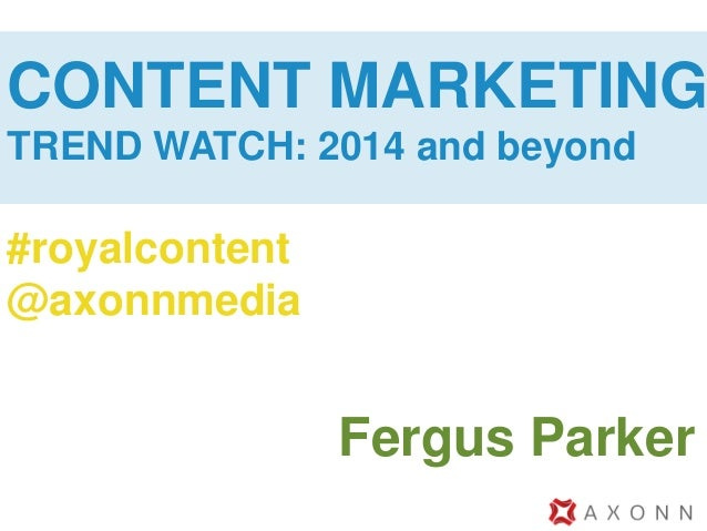 The Future of Content Marketing #royalcontent