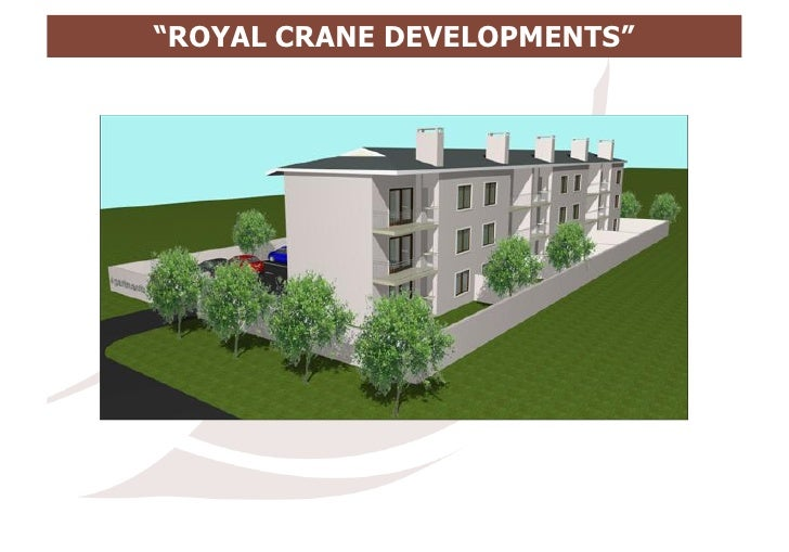 Royal crane development land for sale