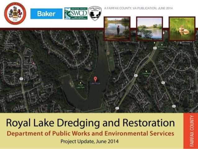 Royal Lake: Meeting Agenda  Introductions and Opening Remarks  Project Goal and Status  Royal Lake Conditions  Project...