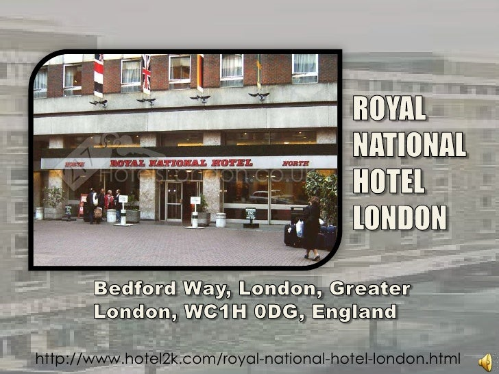 ROYAL<br />NATIONAL<br />HOTEL<br />LONDON<br />Bedford Way, London, Greater London, WC1H 0DG, England  <br />http://www.h...