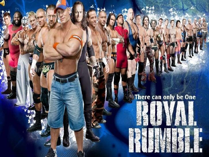 Royal Rumble Participants