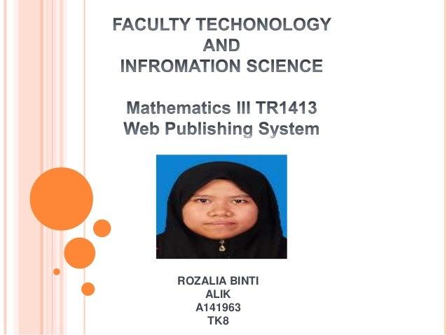 Rozalia alik  math3 (latest)