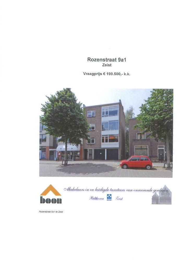 Rozenstraat 9a1 Zeist (www.boonmakelaars.nl)