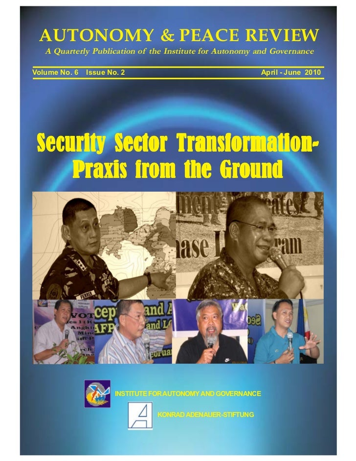Challenges of Security Sector Transformation in the Philippines by banlaoi