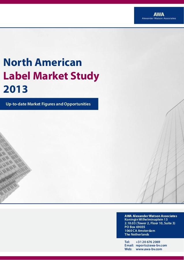North American Label Market Study 2013