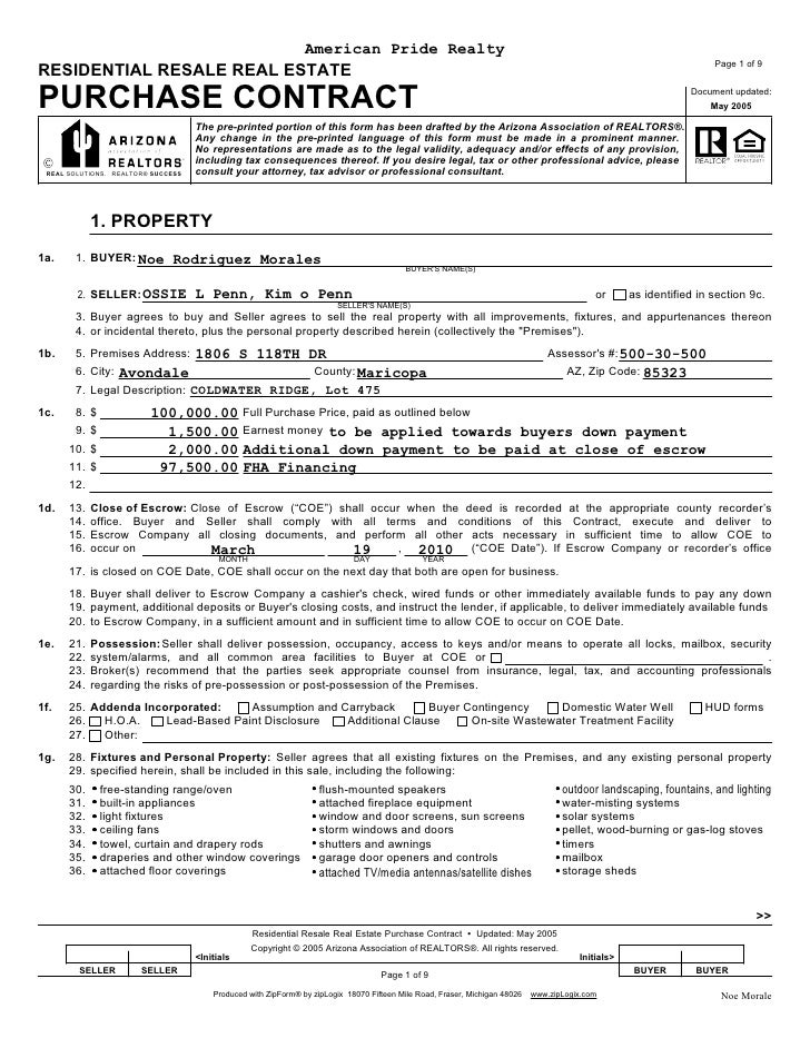 Real Estate Forms Pdf Todayalertsln Over Blog