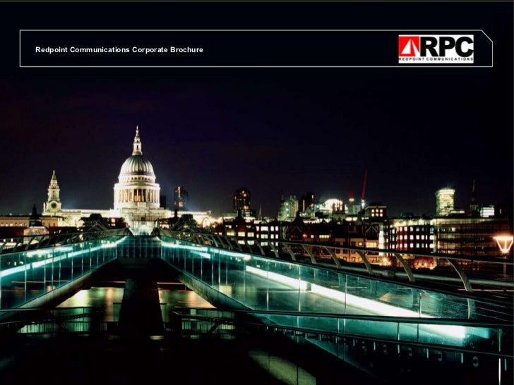 Redpoint Communications Corporate Brochure
