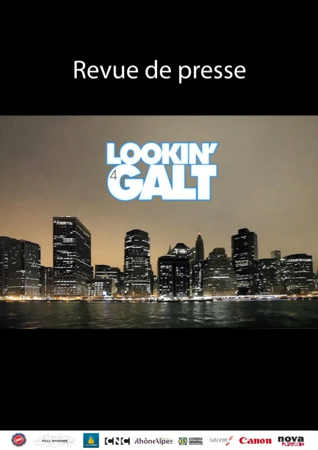 Lookin4Galt Un film & webdocumentaire de Gasface Une coproduction Full Rhizome – Dailymotion – Gasface  «Hair est la coméd...
