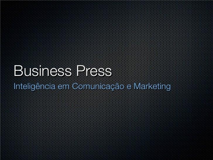 Business Press Inteligência em Comunicação e Marketing