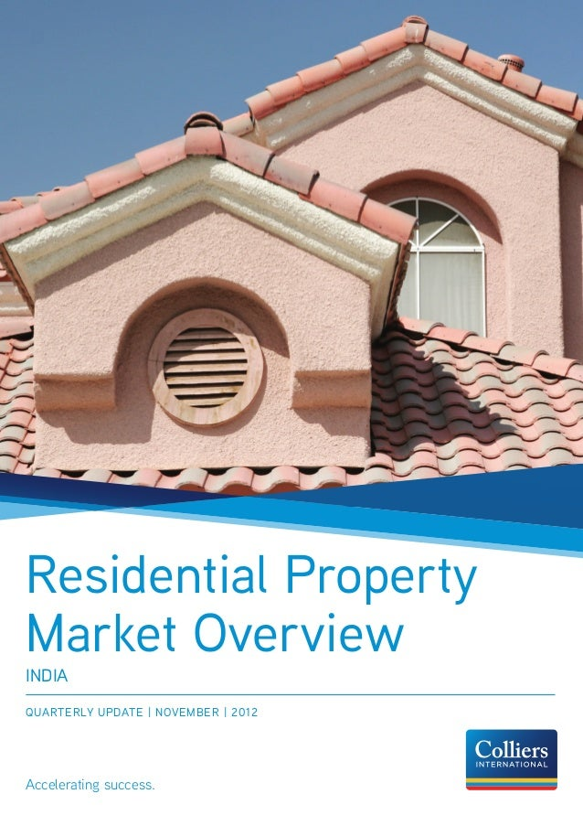 Residential Property Market Overview Nov 2012