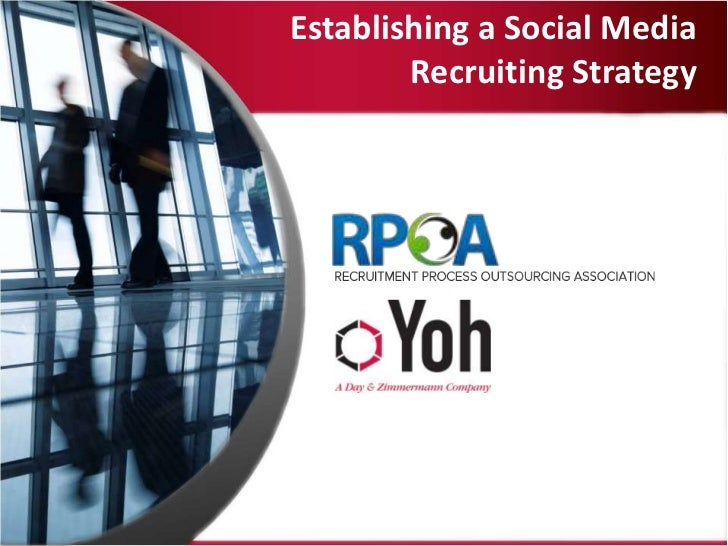 Establishing a Social Media        Recruiting Strategy