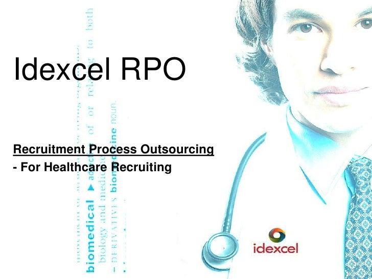 Idexcel RPO for Healthcare Recruiting