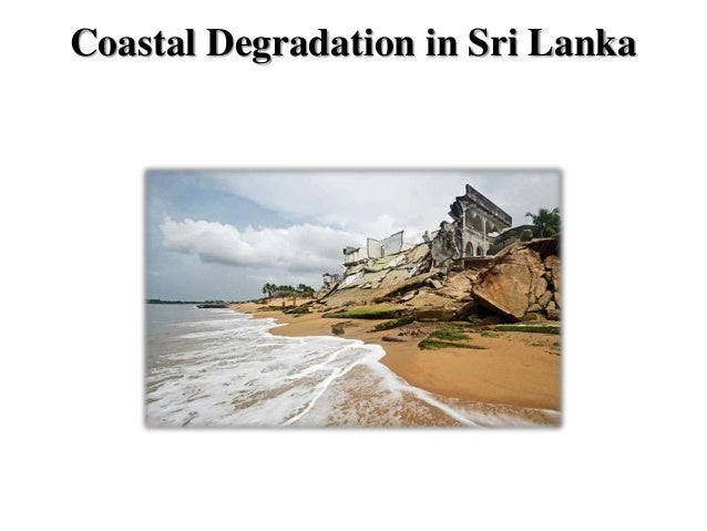 coastal degradation