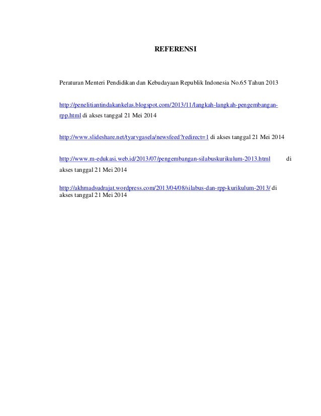 Perangkat Pembelajaran Rpp Amp Silabus Kurikulum 2013