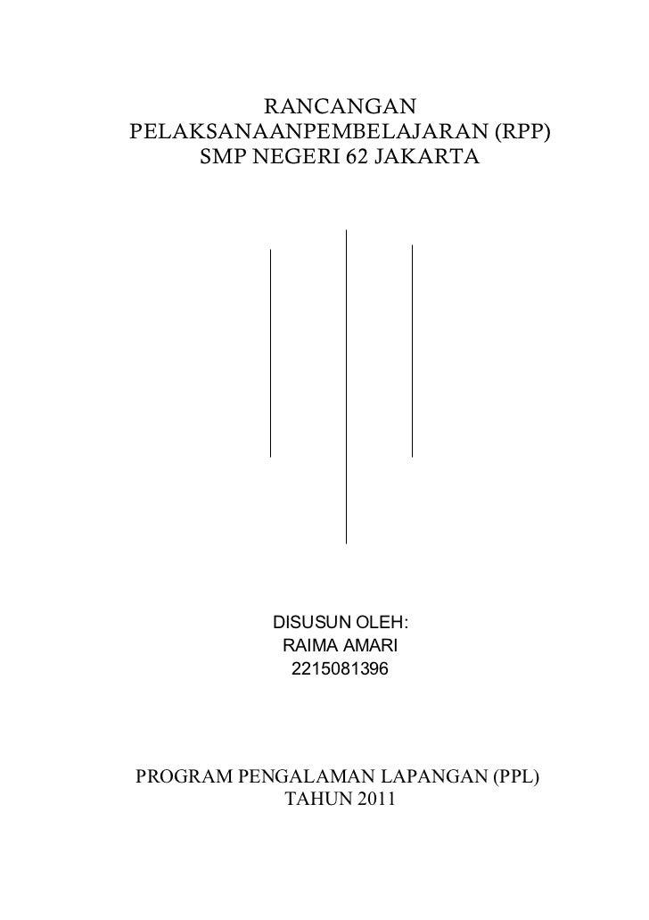 Rancangan Pelaksanaan Pembelajaran (RPP) B.Inggris kelas 8 semester ganjil