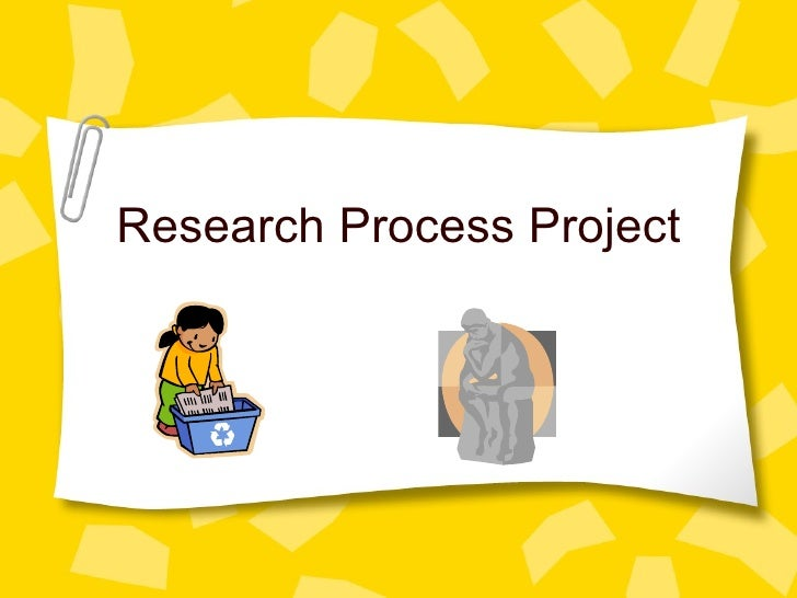 The Research Process High School English
