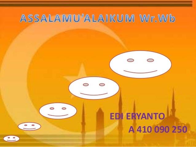 EDI ERYANTO     A 410 090 250