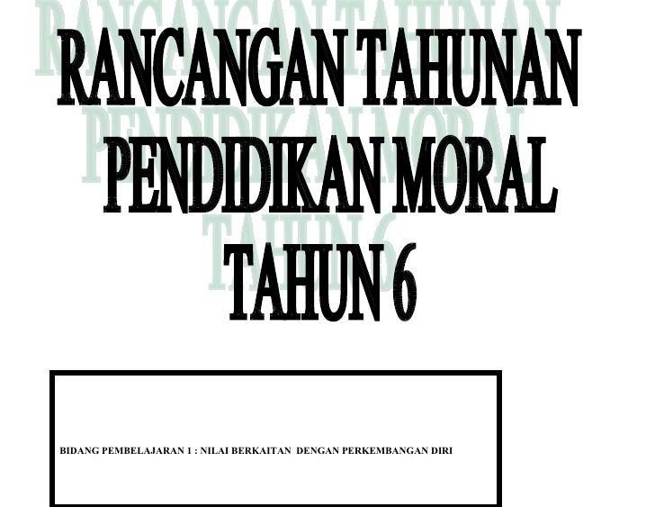 Rpt Moral Tahun Enam