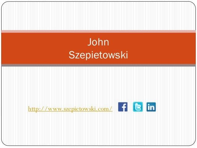 John Szepietowski  http://www.szepietowski.com/