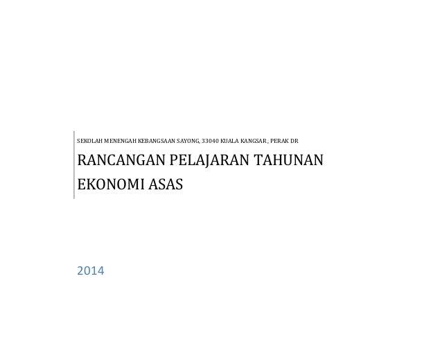 Rpt ting 5 ekonomi asas 2010