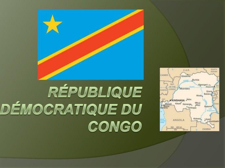 Le DRC est le plus grand pays francophone de la           monde. En Afrique, il est le deuxième plus           grand pays....