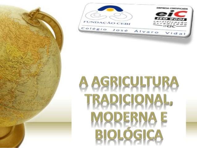 Evolução da Agricultura