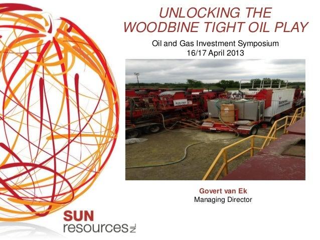 Resources Roadshow April 2013 - Sun Resources Presentation