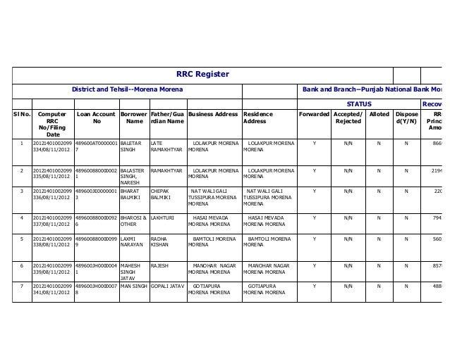 Rrc register