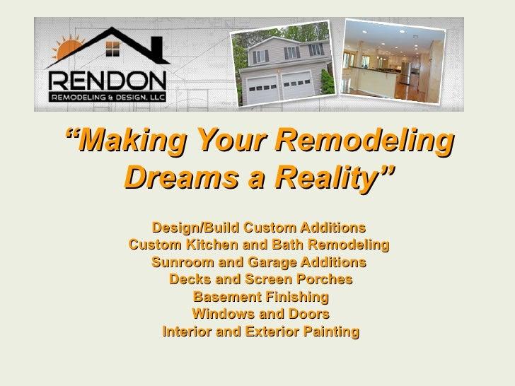 Rendon Remodeling & Design Info