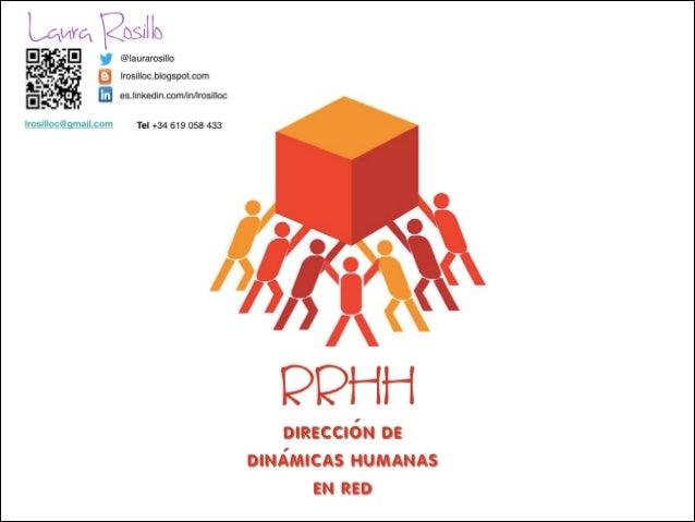 RRHH dirección de dinámicas humanas en red 2014