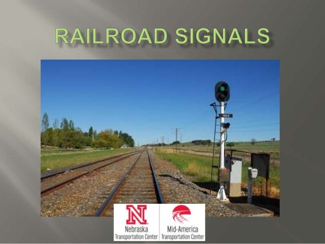 Railroad Signals