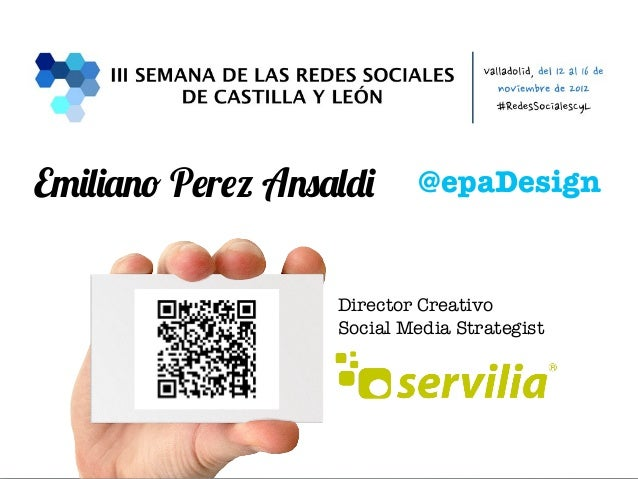 Emiliano Perez Ansaldi     @epaDesign                        Director Creativo                        Social Media Strateg...