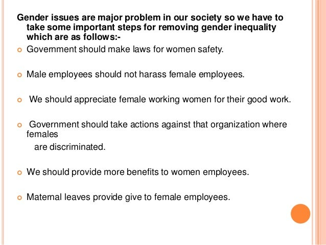 essay on discrimination against women in the workplace