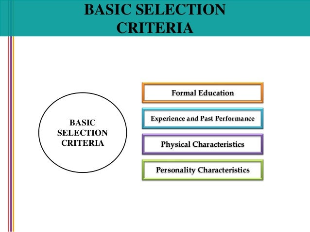 thesis on recruitment and selection process