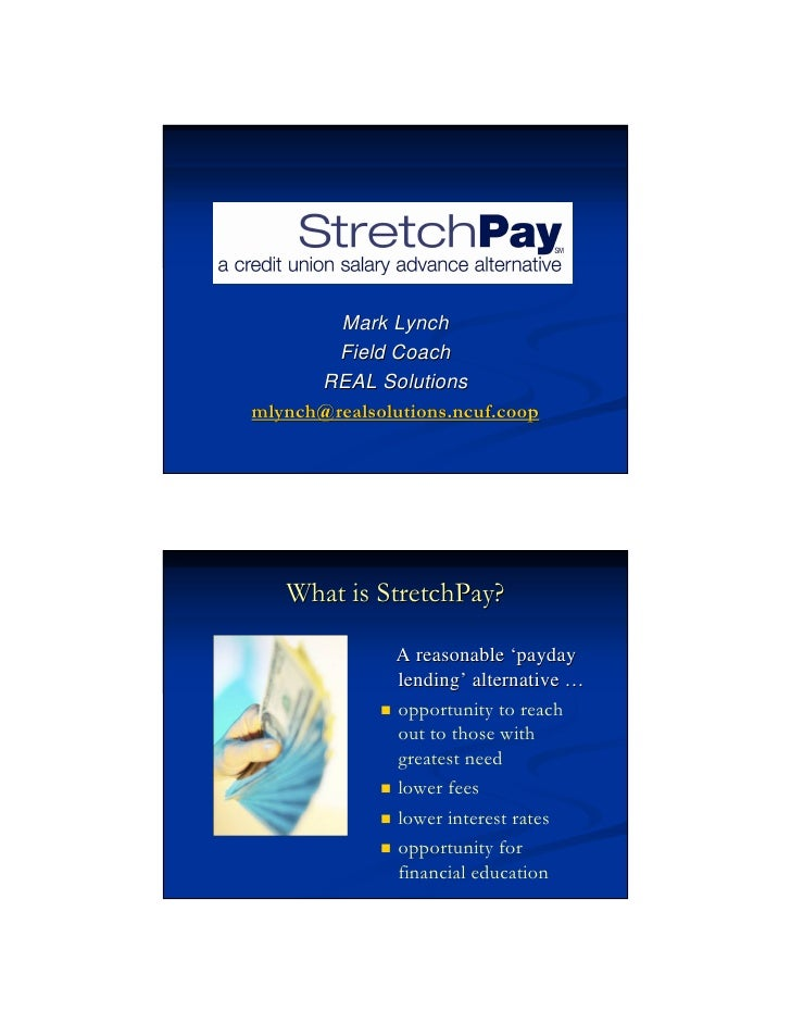 REAL Solutions_PDLA Options_Stretch Pay Model