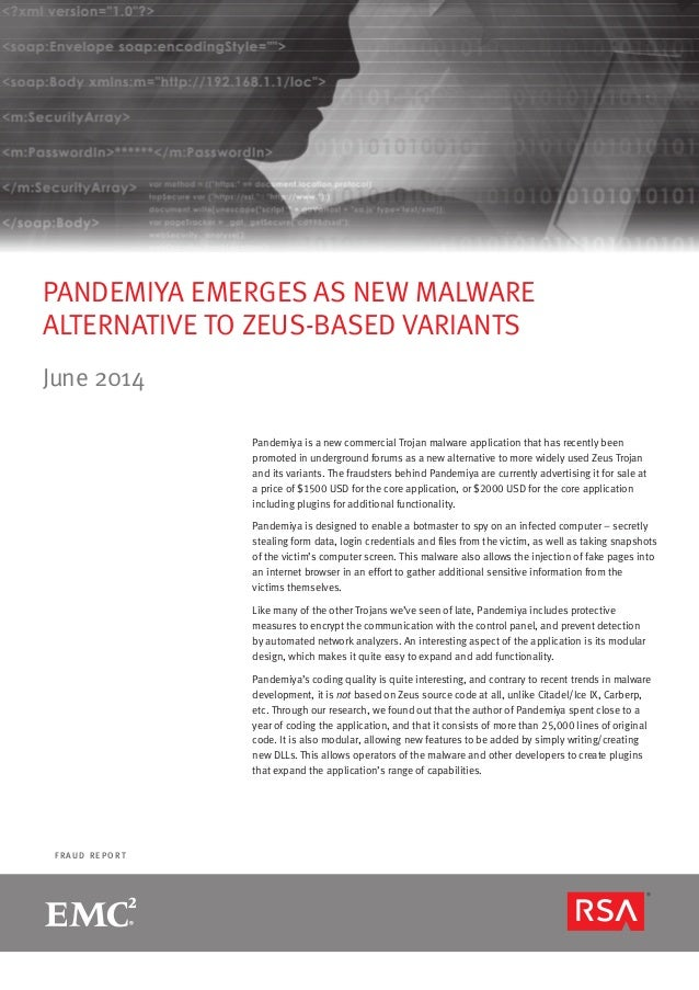 RSA Monthly Online Fraud Report -- June 2014