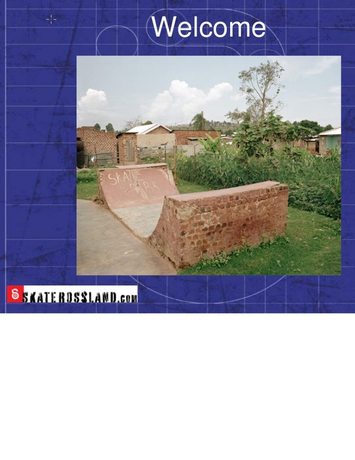 RSA Skatepark Design Presentation