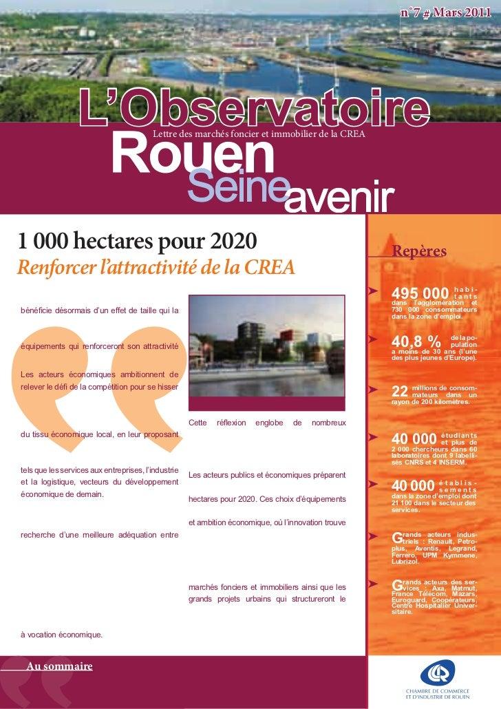 Rouen Seine Avenir / Mars 2011
