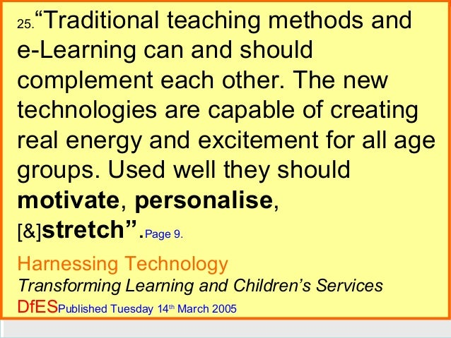 """Traditional teaching methods and e-Learning can and should complement each other. The new E-Guides Continued technologies..."